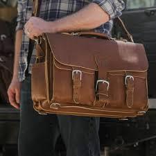 saddleback leather s front pocket briefcase a huge bag that fits all 17 or 15
