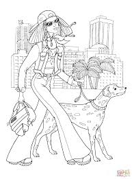 Small Picture Teenager Fashion coloring page Free Printable Coloring Pages