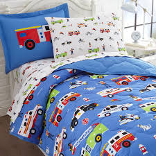 fire truck bedding twin cover