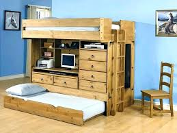 wood loft bed with desk with dresser bunk loft bed desk solid wood bunk bed with
