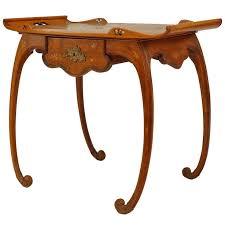 art nouveau furniture. french art nouveau walnut serving table by emile galle furniture a
