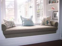 bedroom window seat cushions.  Cushions Graceful Window Seat Cushions Ideas Throughout Bedroom Pinterest
