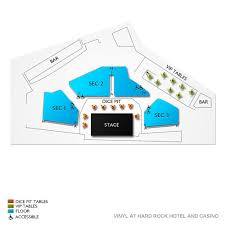 Vinyl At Hard Rock Hotel Seating Chart Koe Wetzel Fri Dec 13 2019 Vinyl At Hard Rock Hotel And