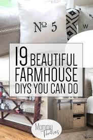 diy farmhouse decor 19 beautiful farmhouse diys you can do farmhouse style for your