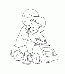 Small Picture Caillou Coloring Pages fablesfromthefriendscom