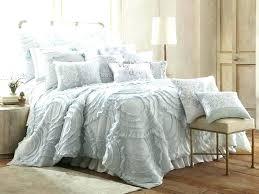 blue ruffle comforter duvet covers light blue ruffle bedding great quilt set navy blue ruffle comforter