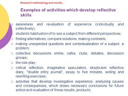 reflexivity a principle for innovation in education reflexivity  11 research methodology