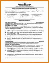 What Is A Lighting Design Engineer New Mechanical Resume Examples