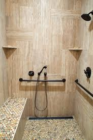 handicapped accessible shower design idea