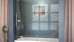 curved bathtub doors tub stunning glass sliding delta bypass best shower curved semi trackless double doors curved bathtub doors