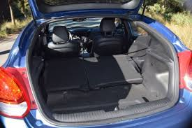 hyundai veloster interior trunk. much larger and more useful than the fiesta st or juke nismo handier easier to pack a focus too despite high load lip get over back hyundai veloster interior trunk
