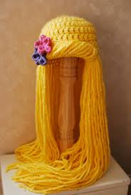 rapunzel yarn wig by willowwardrobe on 35 95