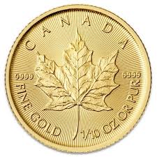 1 10 Oz Canadian Maple Leaf Gold Coin