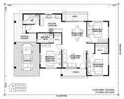 bungalow house design with 3 bedrooms