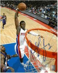Reggie Jackson Autographed Detroit ...
