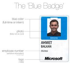 Getting Blue Badges Microsoft – The New Even Redesign Geekwire Are A