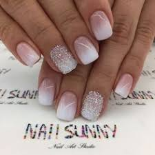 pinterest wedding nails. White pink ombr bridal nails Nails Pinterest Bridal nails