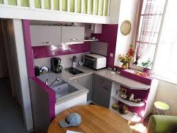 Joli Cuisine Petit Espace Exemple Deco Moderne Petite Clever