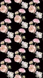 Iphone Wallpaper Floral Dark