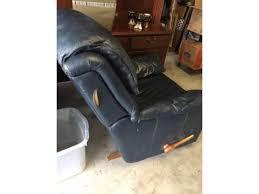 dark blue leather lazy boy recliner 5833 goliad ave