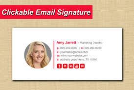 Email Signature Html Email Signature Html Email Signature Clickable Signature By Faruk7