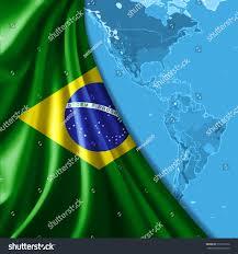 Map Of The World Background Brazil Flag Map World Background Stockillustration 212317216