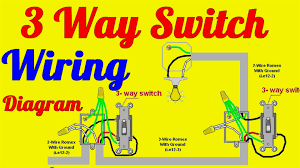 3 way switch wiring diagrams how to install entrancing outlet 2 Wire Outlet Diagram 3 way switch wiring diagrams how to install entrancing outlet diagram 2 wire grounded outlet wiring diagram