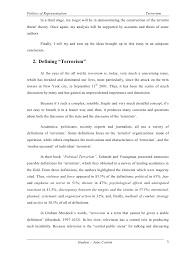 an essay on terrorism for students terrorism essay customwritings com blog