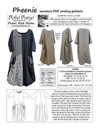 Lagenlook Sewing Patterns Magnificent Willara Top And Dress Pdf Sewing Pattern Sewing Pinterest