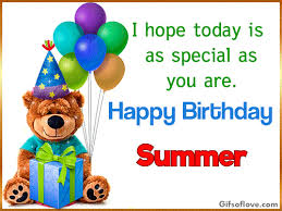 Image result for happy birthday summer