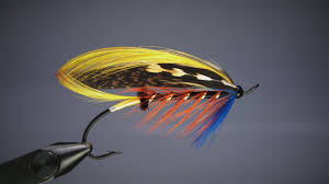 Salmon Fly Patterns Fascinating Fly Tying Thunder And Lightningsalmon Fly YouTube