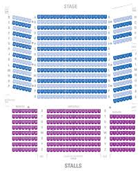 The Music Hall Seating Plan View The Seating Chart For