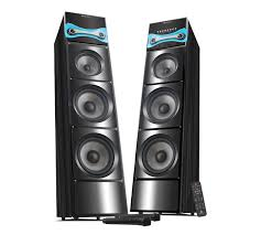 The Beaming Hard Rock 3 Tower Speakers Stand Tall To Pump