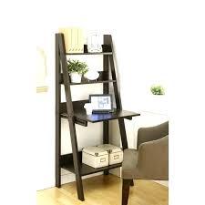 bookcase desk combo ladder bookcase with desk leaning shelf in combo idea 8 bookcase desk combo