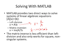 9 solving with matlab