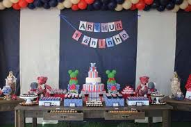 24 <b>First Birthday Party</b> Ideas & Themes for <b>Boys</b> - Spaceships and ...