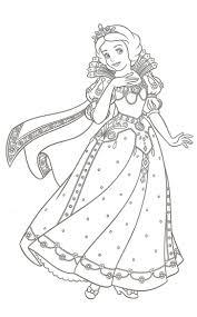 Blanche Neige Disney Coloriage Pinterest Coloriage