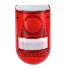 Personal Emergency Strobe Lights Amazon Com Riuty Solar Strobe Lights Motion Sensor