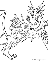 S Dessin Coloriage A Dessiner Chevalier Dragon Imprimer L