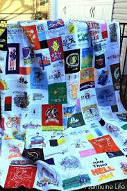 How To Make A Cool Shirt My Too Cool T Shirt Quilt A Jennuine Life