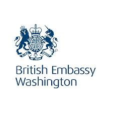 「Her Majesty's Ambassador to the United States of America logo」の画像検索結果