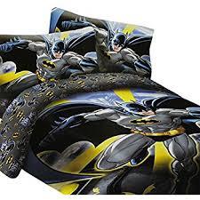 DC Comics Batman in the City Super Soft Luxury Twin Size 3 Piece Comforter  Set