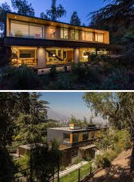 18 Modern House In The Forest // This family house might be surrounded by  the
