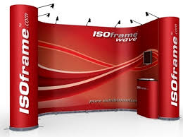 Portable Stands For Display ISOframe Wave Display Stands And System From Duo GB Ltd 20