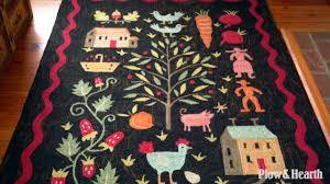 contemporary folk art hand hooked rug sku 53g5a plow hearth