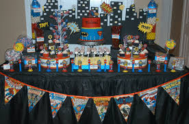 Spiderman Candy Table Ideas