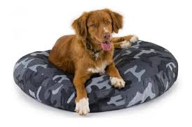 tear resistant dog bed. Perfect Dog Round Tuff Bed On Tear Resistant Dog H