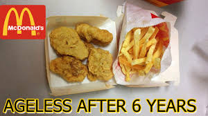mcdonald s food after 2 years. Happy Meal Ageless After Years With Mcdonald Food