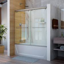 56 in 60 in bathtub doors bathtubs the home depot throughout amazing glass shower doors for bathtub applied to your home design