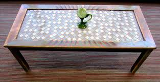mail gems diy marble mosaic table top home art decor rhcfusrugorg how to refinish and tile